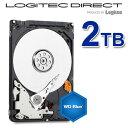 Western Digital 2.5インチ内蔵HDD WD Blue 2TB バルクハードディスク【WD20NPVZ-LOG】