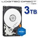 【予約受付中:12/中旬出荷予定】Western Digital 2.5インチ内蔵HDD WD Blue 3TB バルクハードディスク【WD30NPRZ-LOG】