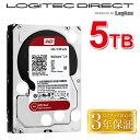 ショッピングロジテックダイレクト WD 製 Red モデル 内蔵ハードディスク(HDD) 5TB 3.5インチ ロジテックの保証・無償ダウンロード可能なソフト付【LHD-WD50EFRX】