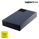 HDDケース 3.5インチ 外付 冷却ファン搭載 USB3.0 ロジテック製【LHR-EJU3F】