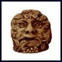 Oxford Gargoyles(石彫ガーゴイル)『グリーンマン』【オックスフォード大学コレクション】