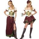 ビールガール ドイツ ハロウイン衣装 レディース 民族衣装 ...
