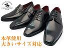 SANTA BARBARA POLO&RACQUET CLUB ビジネスシューズ 本革 メンズ 3E 革靴 紳士靴 スクエトゥ ストレートチップ 外羽根 内羽根 大きいサイズ 28cm まで 紐 モンク ビット 父の日