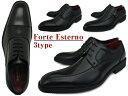Forte Esterno フォルテ エステルノ メンズ ビジネスシューズ 革靴 合成皮革 ビジネスシューズ 外羽根 内羽根 スクエアトゥ ストレートチップ 【紐 ビジネスシューズ 】【モンク ビジネスシューズ 】 父の日 【 lucky5days 】