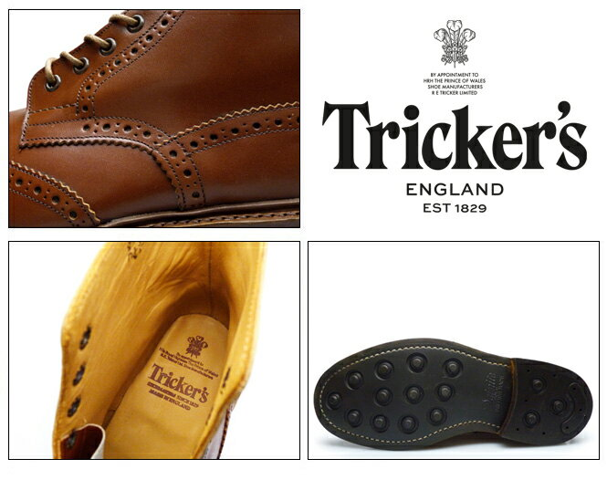 TRICKERS COUNTRY BOOTS ...の紹介画像3