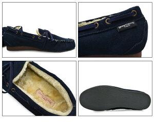 BumpN'GRINDバンプアンドグラインド2110メンズモカシンシューズ本革スエード靴MENSMOCASINSHOESSUEDE紺ネイビーNAVYブランド