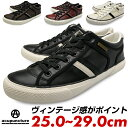 メンズ スニーカー フェイクレザー 紐 白 黒 赤 茶色 ホワイト ブラック ブラウン レッド 靴 送料無料