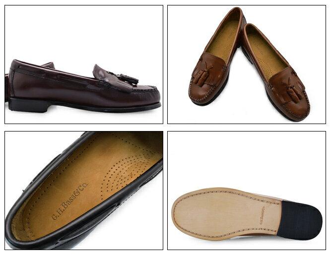 G.H.BassWEEJUNSWASHINGTONバスウィージャンズワシントンレディースローファー本革ローファーレザーローファーキルトタッセルローファーキルトローファータッセルローファー学生通学ローファー学生靴革靴送料無料