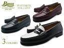 G.H. Bass WEEJUNS WAYFARER バス ウィージャンズ ウェイファーラー レディース ローファー 本革 レザー コインローファー ペニーローファー 学生 黒 白 通学 学生靴 革靴 送料無料