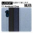 【丈夫なデニム素材】 LOOF Denim Android ...