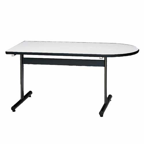 会議テーブル ST-1590KR 半楕円 デスク つくえ 机 ルキット オフィス家具 インテリア レビューを記入で次回1000円割引クーポンGET!さらに5万円毎にQUOカード500円進呈!急いで