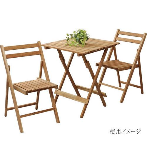 【最大10,000OFFクーポン配布中 4/20 23:59まで】 ガーデンセット LFS-356S テーブル チェア 折り畳み ルキット オフィス家具 インテリア