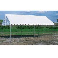 テント アジャストテント 3600×5400mm 仮設テント 屋台 屋外店舗 フェスティバル バザー 学校 運動 施設 三和体育 国産 S-0503の画像
