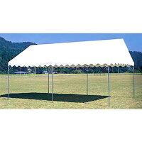 テント 中折れ式 3600×5400mm 屋外店舗 タープテント バザー 市場 施設 教育施設 運動施設 日本製 S-0518の画像