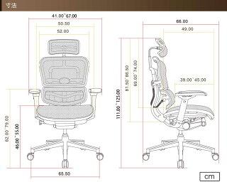 ★ポイント10倍送料無料★エルゴヒューマンベーシックErgohumanBasicヘッドレスト肘付きキャスター付きメッシュチェア椅子オフィスチェアEEH-HAM