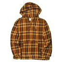 South2 West8 サウスツーウェストエイト S2W8 Mexican Parka Cotton Twill Plaid メキシカンパーカー コットンツイルチェック DI845 XS ブラウン トップス【中古】【South2 West8】
