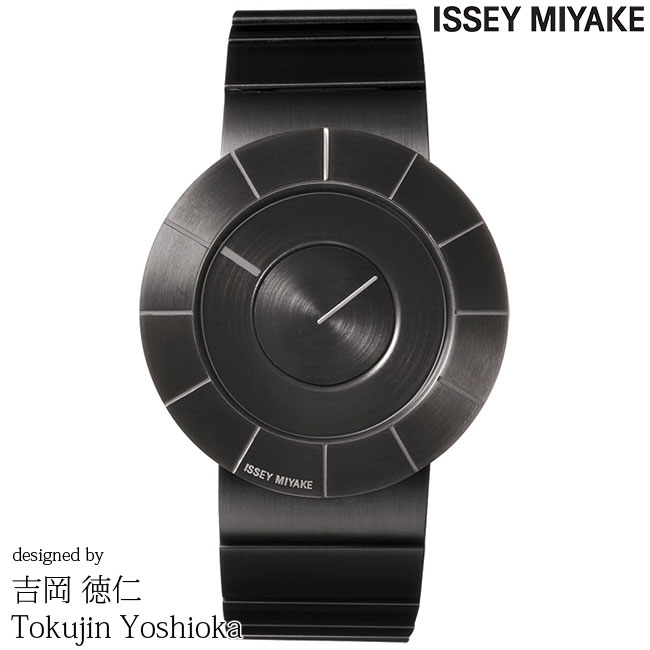 ISSEY MIYAKE イッセイミヤケ 腕時計 YOSHIOKA TOKUJINN 吉岡徳仁 TO ティーオー ブラックサテン SILAN002 安心の正規品 代引手数料無料 送料無料 あす楽 即納可能