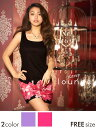 [8/2再販]【あす楽】ドレス キャバ ミニ ビビッドflower柄ノースリーブタイトミニドレス/パーティードレス/ワンピドレス【全2色】【安部ニコル着用】[ピンク 紫][花柄 薔薇柄 ビビッドカラー][レディース ladies dress 大人 女性][dazzy lounge]