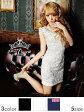 [4/28再販]【5サイズ展開&新色追加★リニューアル】【あす楽】ドレス キャバ ミニ コードレースx艶サテン袖付きタイトミニドレス【XS〜Xサイズ】[白 黒 紺][シンプル 無地 総レース モノトーン][ ladies dress 大人 女性][dazzyQueen] デイジー[TS20][dazzy_o]