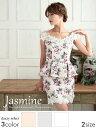 【あす楽】 [送料無料]ドレス キャバ ミニ ドレス[Jasmine][S/Mサイズ]ストーン&am