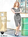 [送料無料][10/5再販] あす楽 ドレス キャバドレス ナイトドレス [S/Mサイズ]リボン付ス