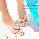 サンダル 靴 レディース ビーサン 厚底 8cm 大きいサイ...