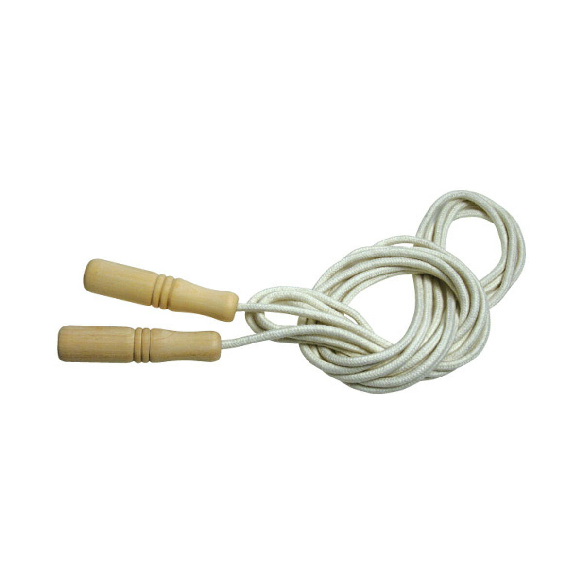 大なわとび 木柄ロングなわとび 縄跳び 縄飛び なわとび 子供用 ロープ 5m 大縄跳び …...:loupe-studio:10412744