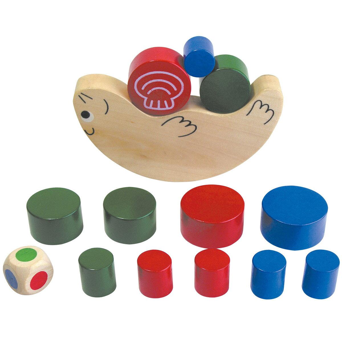 ラッコバランス ゲーム 木製玩具 木のおもちゃ バランスゲーム 知育玩具 4歳 5歳 6歳…...:loupe-studio:10412865