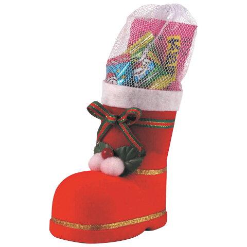 クリスマスブーツ [中] お菓子入 クリスマス プレゼント ギフト