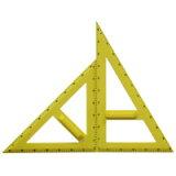 【ポイント2倍★6/1-6/5 03:59迄】大型三角定規セット樹脂製A型 三角定規 学校 算数 数学 先生 【メール便不可】【RCP】【02P01Jun14】