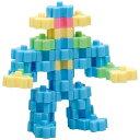 3Dパズルブロック おもちゃ ジグソーパズル 平面 立体 ロボット 幼児 知育玩具 ゲームの画像