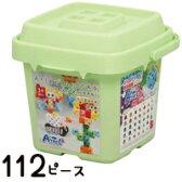 アーテックブロック バケツ112 [パステル] アーテック ブロック Artecブロック 基本セット ブロック 日本製 パズル ゲーム おもちゃ レゴ・レゴブロックのように自由に遊べます