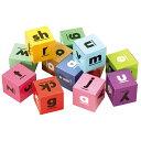 アルファベットキューブ 12pcs 知育玩具 3歳 4歳 5歳 パズル ブロック 英語 おもちゃ