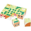 そうぞうキューブ[12pcs] パズル ブロック 知育玩具 ...