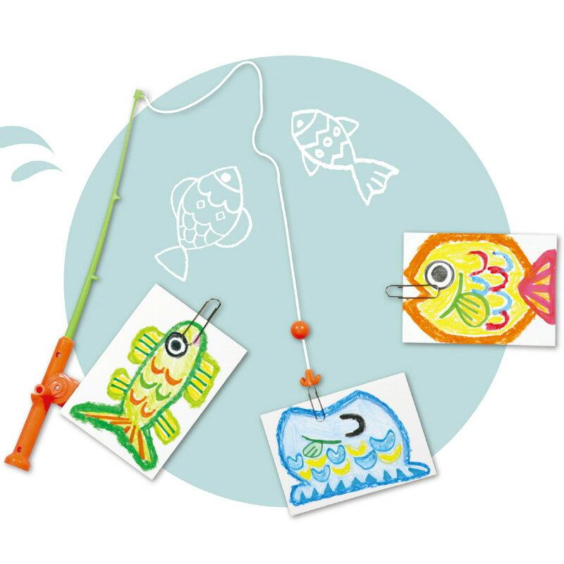 おえかきフィッシングアーテック工作図工魚つりおもちゃキッズ子供幼児