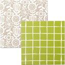 組み立て式ファブリックパネル 布パネフレームセット 布付き 40×40cm 71113 71114 クロバー 布つき フレームキット アートフレーム 手芸 クラフト 生地 裁縫