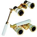 柄付オペラグラス TASCO SAFARI 3倍 25mm オペラグラス コンサート 双眼鏡 カートン光学