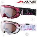 ゴーグル スノーボード レディース 女性用 眼鏡対応 ダブルレンズ [16-17カタログモデル] AXE スキースノボ ゴーグル AX630-WMD メガネ対応 アックス 曇り止め機能付き