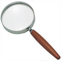 放大鏡 [手持放大鏡放大鏡放大鏡她] 木柄放大鏡 1441年 2.5 x 90 毫米池塘稻場鏡頭放大鏡放大鏡