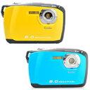 【在庫限り★特価】 ケンコー デジタルカメラ DSC808W Kenko デジカメ コンパクト カメラ 防水 800万画素 送料無料