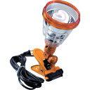 ハタヤ 軽便蛍光灯ランプ 単相100V 23W 電線5m 黄色 [KF23-Y] KF23Y 販売単位:1