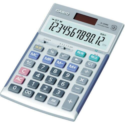 カシオ ジャストタイプ電卓 [JS-20WK] ...の商品画像