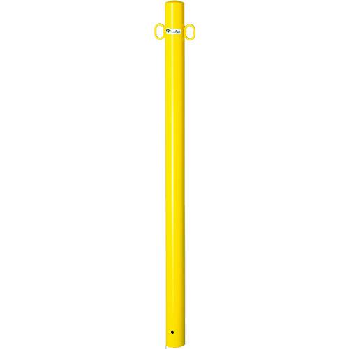 メドーマルク 鉄製ポストタイプ埋込式 黄 [FP2-6] FP26 販売単位:1 運賃別途