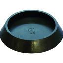 光 平置きゴム 黒丸 内径65mm [BE-0-652] BE0652 販売単位:1