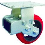 SAMSONG スプリング機能付きキャスター 固定150mm 耐荷重360kg [TP6866R-PCI-BB] TP6866RPCIBB 販売単位:1 送料無料