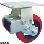 SAMSONG スプリング機能付きキャスター 固定200mm 耐荷重400kg [TP6886R-PCI-BB] TP6886RPCIBB 販売単位:1 送料無料