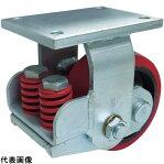 SAMSONG スプリング機能付きキャスター 固定200mm 耐荷重1100kg [TP7581R-PCI-BB] TP7581RPCIBB 販売単位:1 送料無料