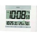 ショッピング電波時計 SEIKO 快適度表示付き電波時計 [SQ429W] SQ429W 販売単位:1 送料無料