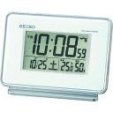 ショッピング電波時計 SEIKO 温湿度付き電波時計 [SQ767W] SQ767W 販売単位:1