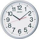 ショッピング電波 SEIKO 電波掛時計 直径361×48 P枠 銀色メタリック [KX229S] KX229S 販売単位:1 送料無料